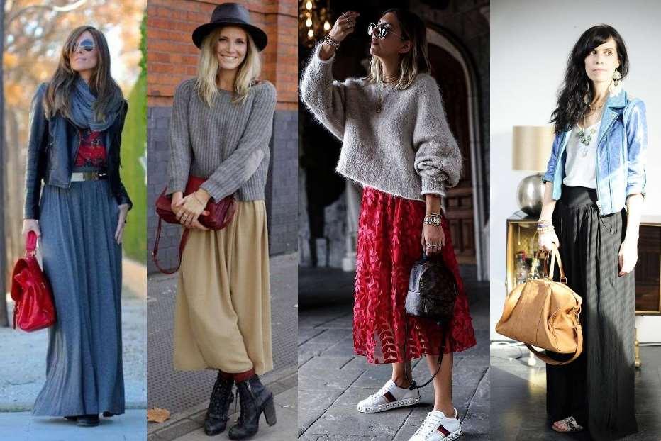 Comment porter la jupe longue ?