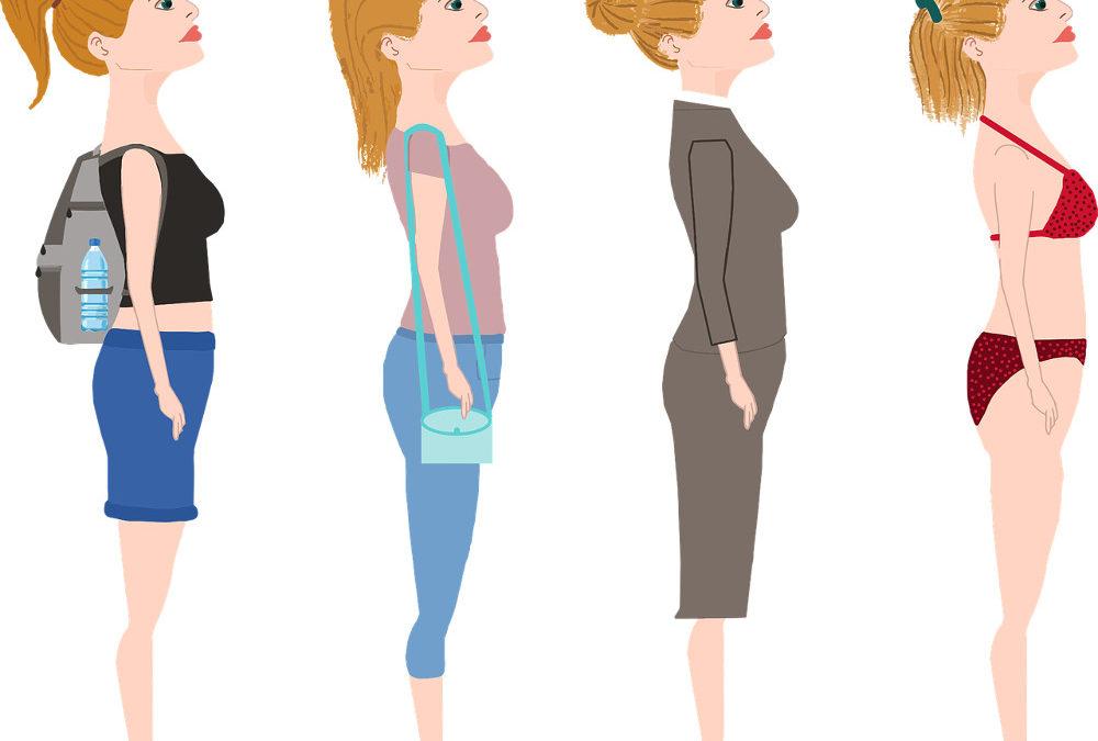 Quels hauts portés pour mettre en valeur votre poitrine généreuse et quels bas portés pour camoufler son petit bidon ?